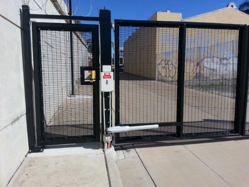 358 Welded Mesh Gate