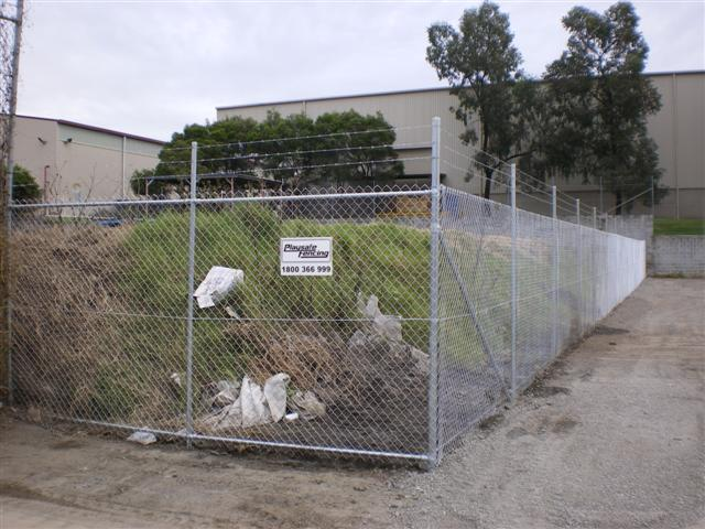 Chainwire Boundary Security Fence